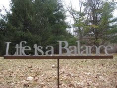 Find balance in each step you take, relationship you have, activity you do, movement you make, food you eat, emotion you feel, thought you think, and breath you take!