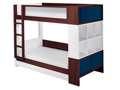 The Duet Bunk Bed comes with numerous options, providing parents and children the opportunity to customize a sleep solution that suits individual requirements for utility and style. As fun as the Duet is for kids, it is also detailed and manufactured to satisfy a visually informed adult aesthetic. Forms and colors are both modern and contemporary, and materials are unusual, durable, and sophisticated. It is practical, above all. Whether stacked or unstacked, it incorporates unprecedented…