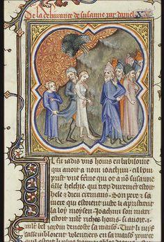 Susannah led to her execution (The Hague, MMW, 10 B 23, fol. 260v), 1372