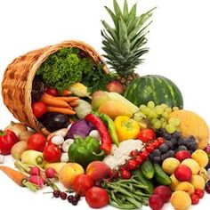 Green Vegetables and Fruits Cure Acidity.