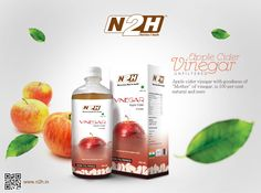 #AppleCiderVinegar #Unfiltered with #goodness of #Mother of #vinegar is #100 percent #natural and #pure