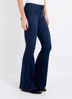 Dr. Denim Brigitte Jeans blauw