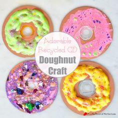 We turned a CD into an adorable doughnut craft with homemade puffy paint frosting. We love Recycled Crafts, so when the Kids Craft Stars challenge this month was to craft with CD's I was thrilled. We have never crafted with a CD before and painting on new materials is always fun! You can follow the …