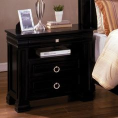 Vanguard 3 Drawer Nightstand