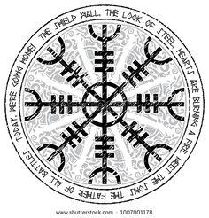 Helm of awe, helm of terror, Icelandic magical staves with scandinavian pattern, Aegishjalmur , Viking Compass Tattoo, Viking Tattoo Symbol, Rune Tattoo, Norse Tattoo, Celtic Tattoos, Viking Tattoos, Norse Runes, Norse Pagan, Tatoo
