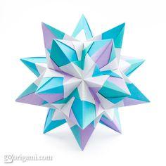 Origami Kusudama by Maria Sinayskaya