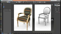 3ds Max - Tutorial - Model Chair Classic NEW_Step 02