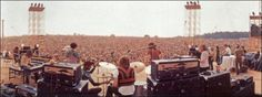 the stage at woodstock