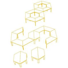 Trapezoid Tables: If I may be moved to the building, got to get some new neat ideas! Classroom Desk, Classroom Layout, Classroom Furniture, School Furniture, Classroom Setting, Classroom Organization, Classroom Table Arrangement, Desk Arrangements, Modular Table