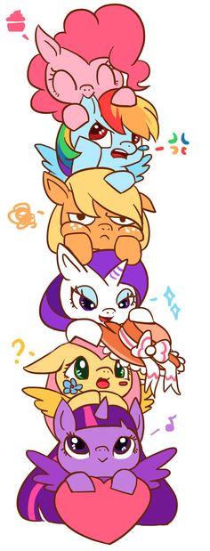 Pinkie Pie and Friends My Little Pony Twilight, My Little Pony Party, Mlp My Little Pony, My Little Pony Friendship, Fluttershy, Twilight Sparkle, Rainbow Dash, Apple Jacks, My Little Pony Wallpaper