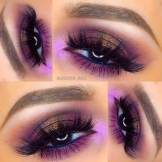Gorgeous look by MUA: makeupby_ev21 featuring her Wild at Heart Baked Eyeshadow Palette.