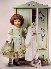 """Marguerite,"" a 16 ½-inch OOAK from 1998."