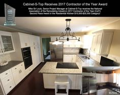 Cabinet-S-Top receives 2017 NARI 2nd Place Contractor of the Year in the Residential Kitchen $15-30k category.