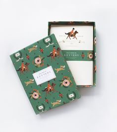 Pony Express Social Stationery Set