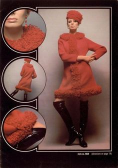 Brunswick Coat Designs 1969 knit coat, coat design, brunswick coat