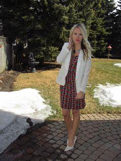 Pattern dresses are so much fun! http://sincerelymissashley.blogspot.ca http://instagram.com/sincerelymissash