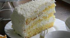 Kuchnia bez glutenu: Tort kokosowy - najprostszy (bezglutenowy)