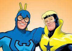 Warner com planos para filme do Gladiador Dourado e Besouro Azul