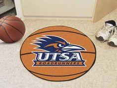 Texas - San Antonio Basketball Mat