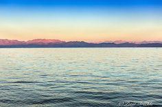 A shot of Saudi Arabia from the shores of Dahab by Peter Truckle.