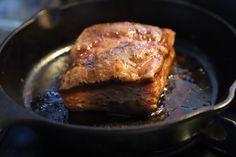 ホエー豚バラブロック  63度で45時間  冷やす前も美味しい