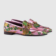 Gucci Gucci Jordaan floral jacquard loafer Detail 2