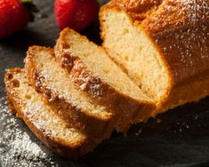 """Sandkuchen is a classic German coffee cake. It is called Sandkuchen (literally """"sand cake"""") because of its color that reminds of sand. This cake is very easy to Sand Cake, German Coffee Cake, Lemon Loaf Cake, German Baking, Baking Secrets, Lemon Yogurt, Plum Cake, Pound Cake Recipes, Cooking On The Grill"""