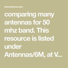 29 Best 6M Antenna images in 2019 | Radios, Ham, Ham radio
