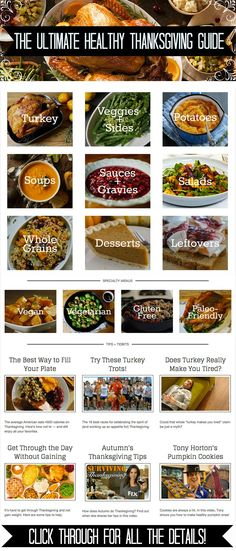 Get ready for a delicious holiday with this Thanksgiving guide that's chock full of healthy recipes for turkey, dressing, desserts, and more! Click through for the complete guide! // Thanksgiving recipes // vegetarian recipes // vegan recipes // gluten free recipes // healthy desserts // Thanksgiving leftovers // side dishes // healthy eating // healthy holidays // beachbody // beachbody blog