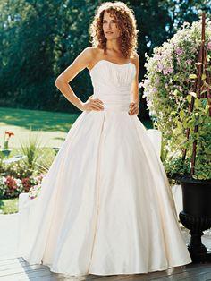 Ball Gown Sweetheart Taffeta Floor-length Ruffles Wedding Dresses Shop uk