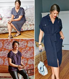 Tea Time (Plus Size): 8 New Patterns #burdastyle #sewing #sewingpatterns