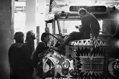 Ken Kesey, Chet Helms, possibly some Merry Pranksters