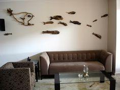 school of fish (beachstring: DRIFTWOOD ART)