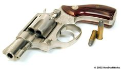 The revolver turned shooting a round into a one-step process, forever changing the face of crime, law enforcement and self-defense. Find out what goes on inside a revolver.
