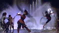 "Captivating composing Captain Lindsey Stirling performing ""Master of Tides"" - The lovely Lindsey Stirling..."