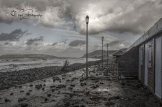storm rocks At Penmaenmawr after the recent battering north Wales coast got by Cheryl Wild