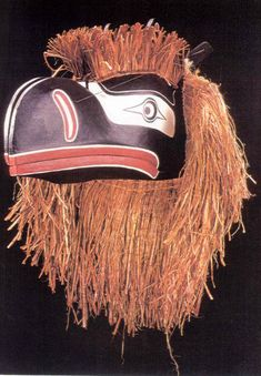 Raven/Sisutl transformation mask by Oscar Matilpi, Kwakwaka'wakw Nation, 1996. (The Children's Museum of Indianapolis)