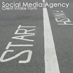 Social Media Agency Client Intake Form