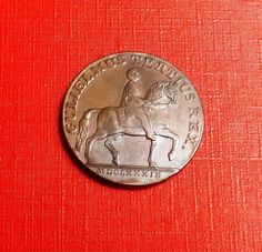 Half Penny Token 1791 Coins, Personalized Items, Coining