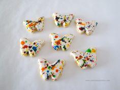 Mariposas en el estómago...literalmente. #galletas #vainilla #sugarcookies #vanilla