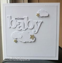 Cártaí: Welcome Baby Baby Girl Cards, New Baby Cards, Baby Boy, Invitation Cards, Invitations, Handmade Baby, Handmade Cards, Welcome Baby Girls, Baby Shower Cards