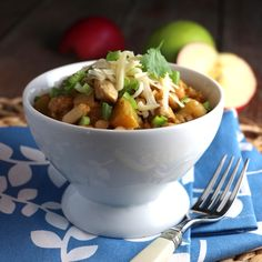 Turkey & Apple White Chili