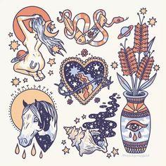 Hard Drawings, Cool Drawings, Tattoo Drawings, Tattoo Sketches, Tarot Tattoo, Tattoo Flash Art, 2 Instagram, Body Art Tattoos, Tattoo Designs