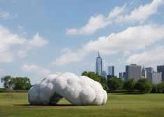 Head in the Clouds Pavilion by StudioKCA wins AIA Small Projects prize.