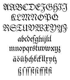Western Calligraphy | external image Theuerdank-Fraktur.jpg