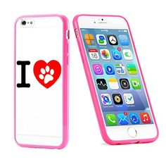 Popular Apple iPhone 6 or 6s Dog Lover Paws Love Cute Gift for Teens TPU Bumper Case Cover Mobile Phone Accessories Hot Pink MonoThings http://www.amazon.com/dp/B017HVSLNW/ref=cm_sw_r_pi_dp_FS9nwb06JK7Q0