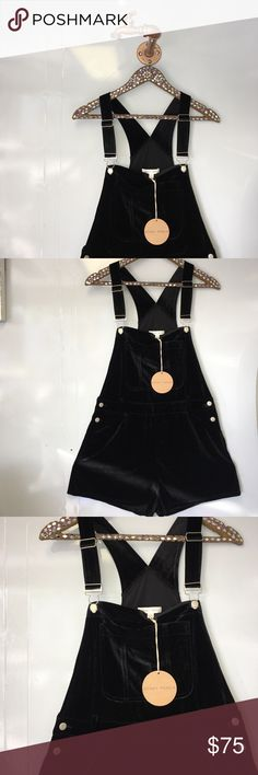 "HONEY PUNCH BLACK VELVET MINI SHORTS ROMPER M Super cute and brand new!  Want to save more?  Bundle and save on shipping! Measurements:  Length: 32""  Underarms: Inseam:  Waist: 15""  * smoke free home * Reasonable offers only please * All items are recorded in condition listed prior to shipping  * follow me on IG for exclusive sale offers @theposhpassport_ Honey Punch Pants"