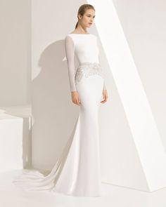 PAISAJE - Novia 2018. Colección Rosa Clará Couture