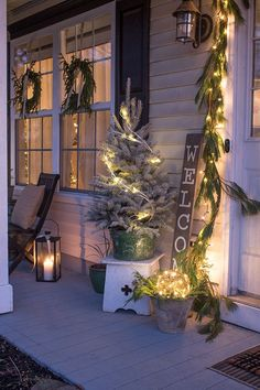 Here are six stylish Christmas light ideas that are guaranteed to make your exterior stand out from the crowd.