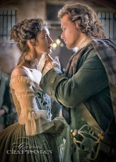 My fangirl tribute to a favorite moment from S1 of Outlander... The Wedding
